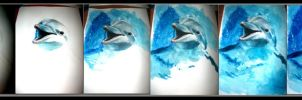 Dolphin smile Step By Step by elicenia