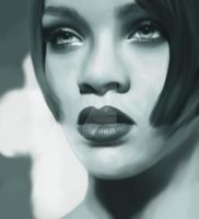 Rihanna by Lestatslover84