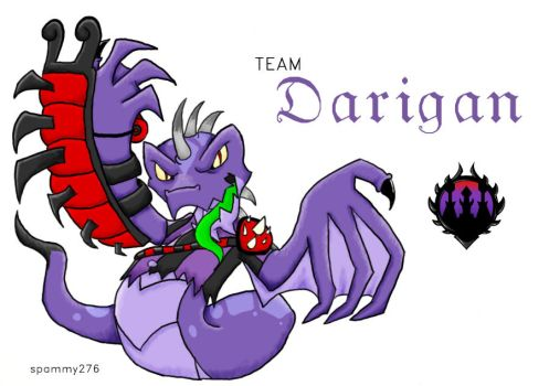 Neopets: Team Darigan Banner by spammy276