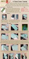 Cosplay with Floral Foam Tutorial by Arizzel