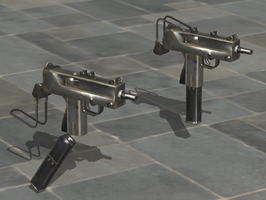Ingram MAC-10 - Rigged by ProgammerNetwork