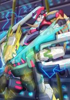 Aztec Falcon (Destroy the Disposal Center) by ultimatemaverickx