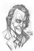 Heath Joker Sketch by MicoSuayan