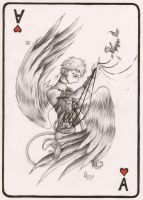 Ace of Hearts- Quin by HanMonster