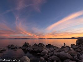 East Shore sunset140630-48 by MartinGollery