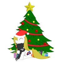 Two friends christmas (updated) by Xyotic