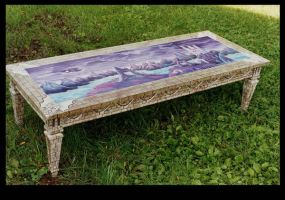 Fantasy Castle Table by ReincarnationsDotCom