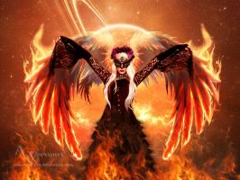 Fire Woman 3 by annemaria48