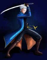 Vergil by azemnaibaf