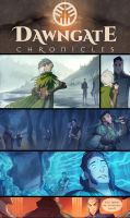 The Dawngate Chronicles - Page 23 + 34 Previews by nicholaskole