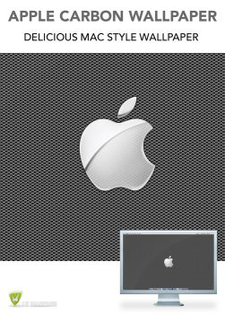 Apple Carbon Wallpaper by LeMarquis