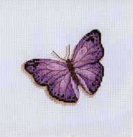 Purple Butterfly by pinkythepink