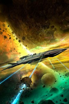 Space Opera Book Cover by jbrown67