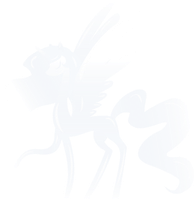 Glass Alicorn statue by The-Clockwork-Crow