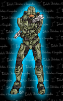 Master Chief T-Shirt by I3-byUsagi