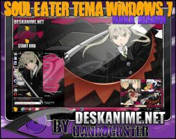 Maka Albarn Theme Windows 7 by Danrockster