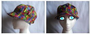 PUZZLE HAT by Mad-March