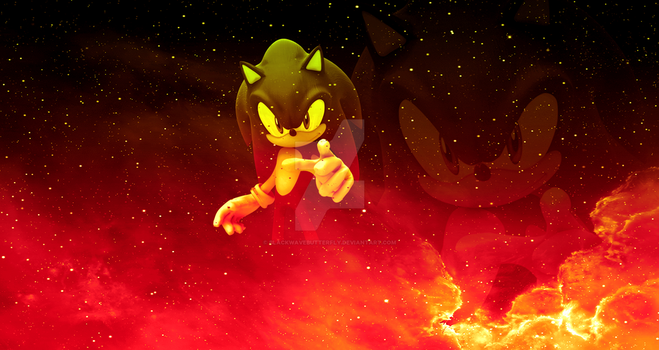 SONIC FORCES BANNER/WALLPAPER by BlackwaveButterfly