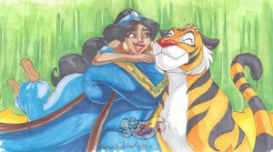 Jasmine and Raja by BetaoftheBass