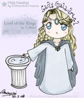 Chibi Galadriel 2nd version by Elbereth-Evenstar