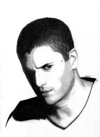 Wentworth Miller by evionn