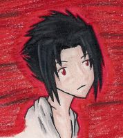 Sasuke .:for avatar:. by shoujoartist