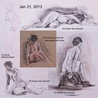 2013-01-21-Life-Drawing by spudsy2