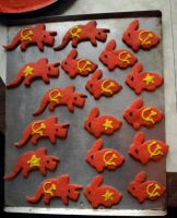 Commie Cookies by mostlymade