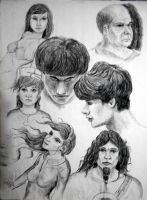 Charcoal Sketching by dannyovt