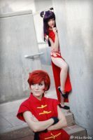 Shampoo like following Ranma. by jinxed-jem