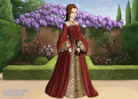 Queen Elizabeth of England by MoonMaiden37