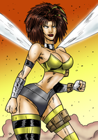 Abby-May-A-Thon - Rob Liefeld-style by theEyZmaster