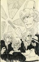 Doctor Who meets the Beatles by hollyoakhill