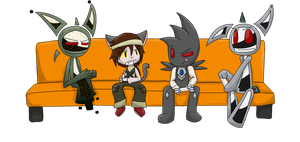 COUCH :V by teeny-pie-minion
