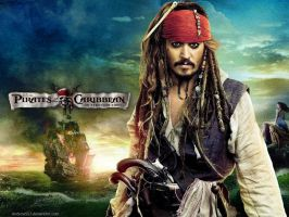 OST - Jack Sparrow wallpaper by AndrewSS7
