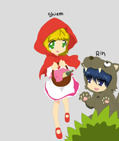 Shiemi And Rin by Ca14