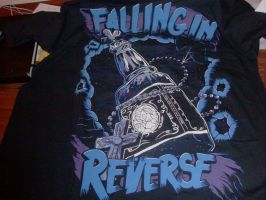 Another New Falling In Reverse shirt by A7XFan666