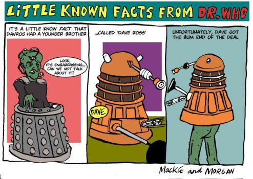 Little known Facts from Dr Who by simonmackie
