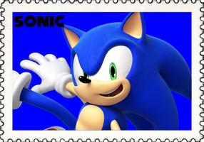 Team Sonic Stamp (GIF Stamp) by ChroniclerLord590