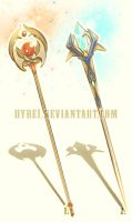 Auction : Weapon Adopt Set 3 [CLOSED] by HyRei