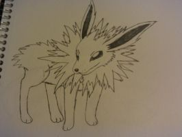 jolteon drawing by lossetta932