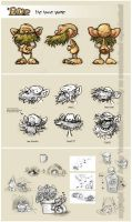 Bup Character Sheet by littlecrow