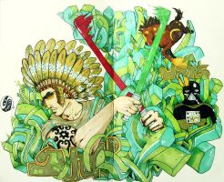 indian wars by Sadmonster