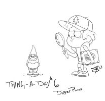 Dipper Pines by Buddhaman1