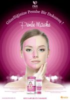 PM Pink Mask Advertising by grafiket