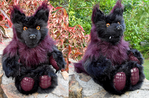 Werewolf plush giveaway by Viergacht
