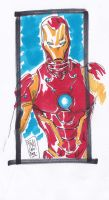 Iron Man sketch by Sassophiliaco