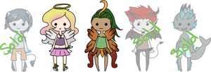 Open- Auction Adopts by Ghibli--Fan