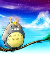 A Dream About Totoro by CarlosArthur