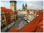Prague from the terrace by nemamane